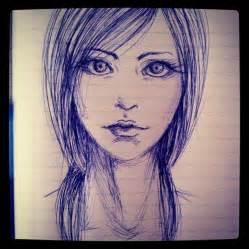 pen drawing by hannitee on deviantart