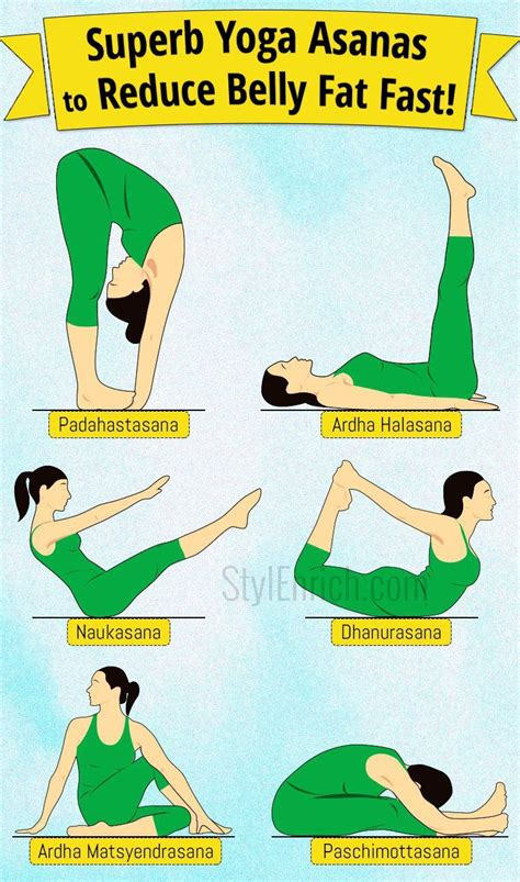 asanas to reduce belly fast health belly workout reduce belly