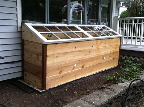 raised bed cold frame raised bed with cold frame garden