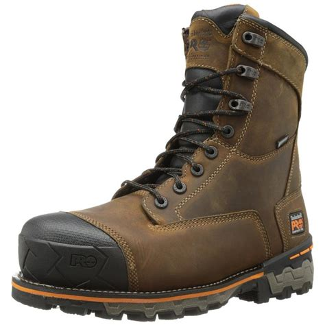 timberland work boots for timberland mens boondock 8in comp toe work boots 92671
