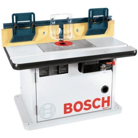bosch laminated router table with cabinet ra1171