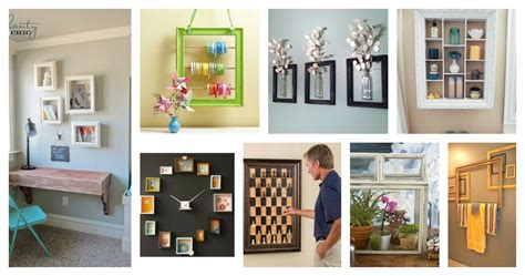 40 creative reuse picture frames into home decor ideas