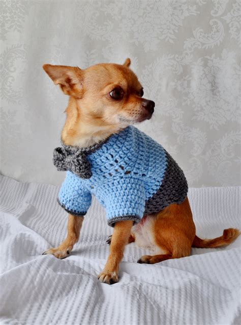 sweater for dogs crochet sweater sweater with bow the oxford