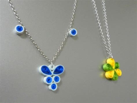 Jewellery With Paper - beautiful easy paper quilling jewellery designs