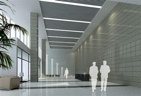 Building Interior Design District Office Building Lobby Interior Design