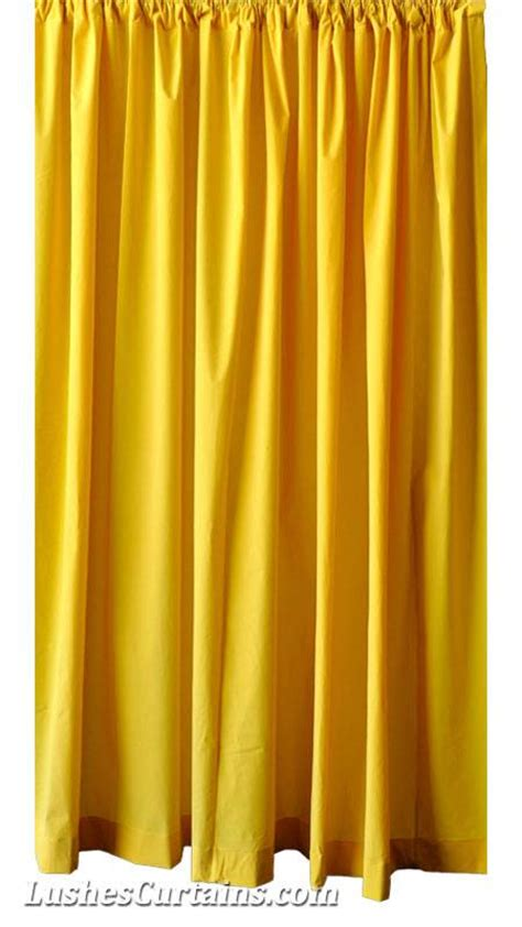 long yellow curtains custom 16 ft high bright yellow velvet curtain extra long