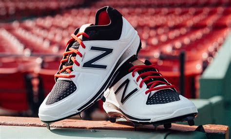 new balance baseball shoes what pros wear look new balance 3000v3 cleats
