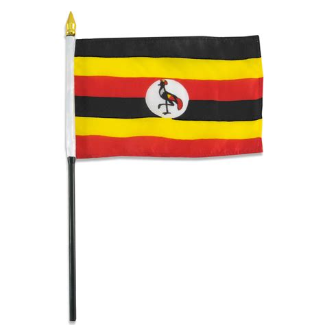 flags of the world uganda uganda flag 4 x 6 inch