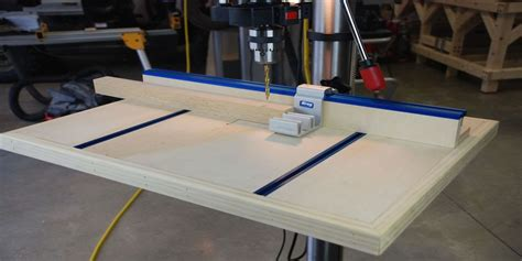 how to build a drill press table pt 1