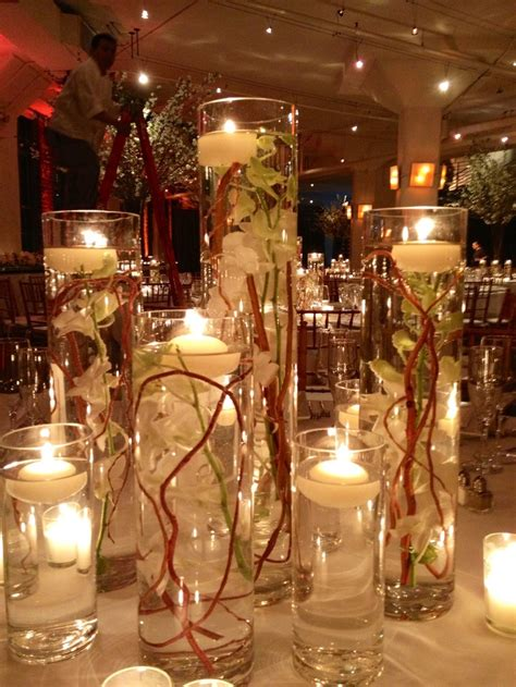 1000 Images About Floating Candle Centerpieces On Wedding Reception Centerpieces Candles