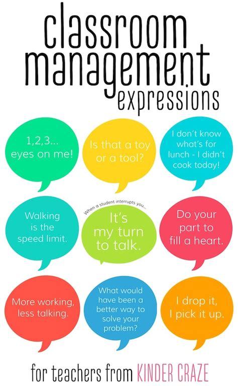 teaching new year to kindergarten classroom management phrases for teachers february