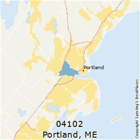 zip code map maine best places to live in portland zip 04102 maine