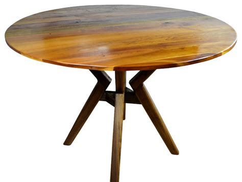 Houzz Dining Tables 40 Quot Dining Table Walnut Stand Midcentury Dining Tables By Vtcollection