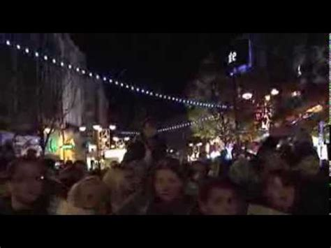 doncaster christmas light switch on 2013 youtube