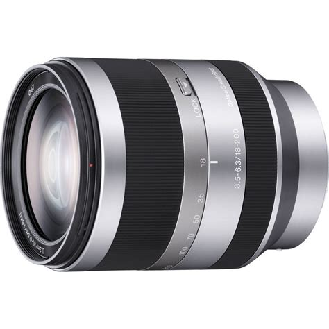 sony e mount 18 200mm f 3 5 6 3 zoom lens for nex for the a6000 so alpha now used to be