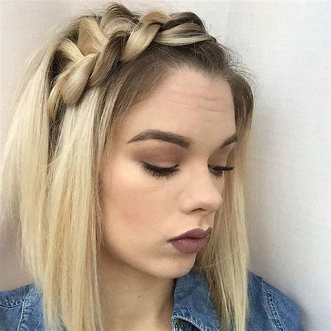 hairstyles for medium length hair plaits 17 chic braided hairstyles for medium length hair stayglam