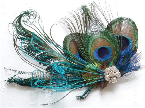 Wedding Hair Accessories Peacock bridal hair bridesmaid accessories peacock wedding hair