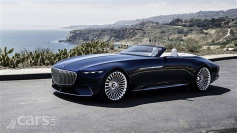 mercedes maybach the vision mercedes maybach 6 cabriolet is an electric