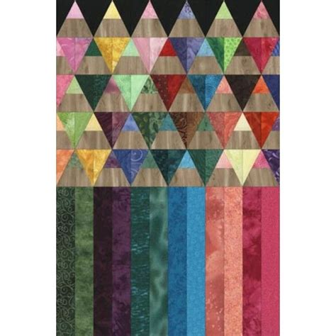 Patchwork Pencil Pattern - colored pencils quilt pattern for sale says beginner