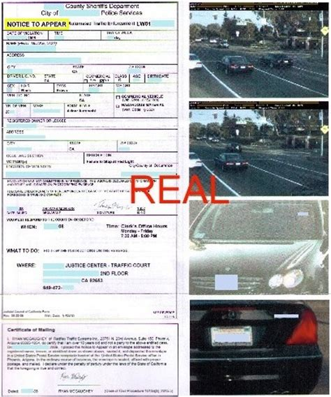 Contesting A Red Light Camera Ticket Decoratingspecial Com