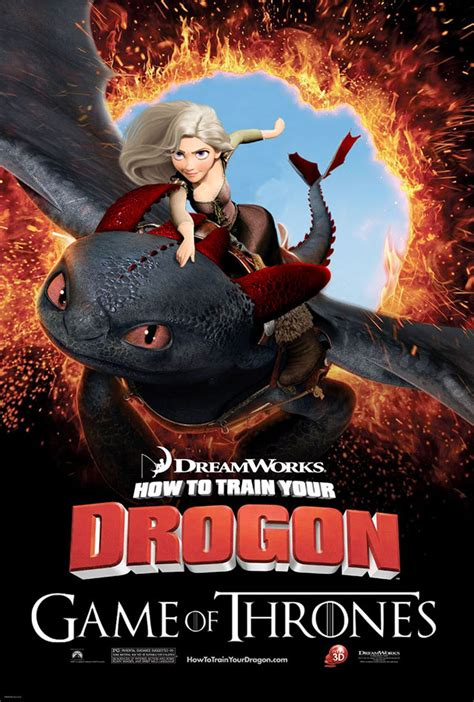 film with cartoon dragon game of thrones and how to train your dragon cartoon
