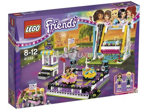 Lego Friends Valencia lego friends parque atracciones coches de choque
