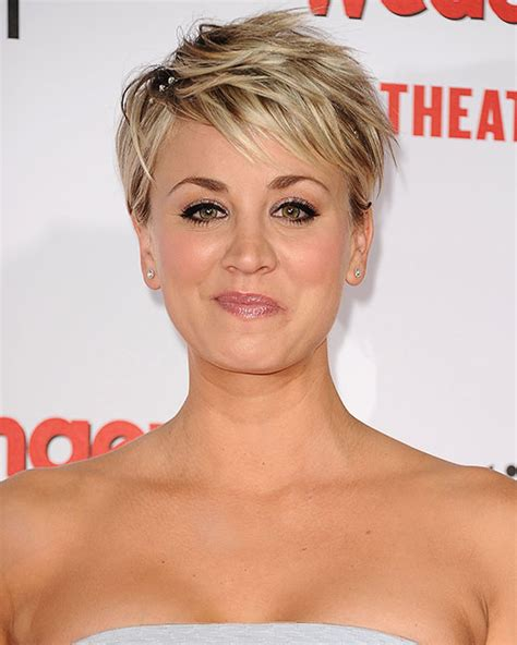 kaley cuoco new short hairdo image gallery kaley cuoco short hair