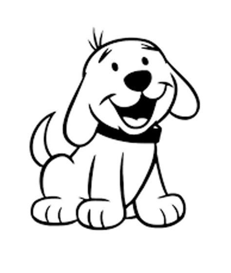 belajar mewarnai gambar binatang untuk anak anjing yang lucu dan imut
