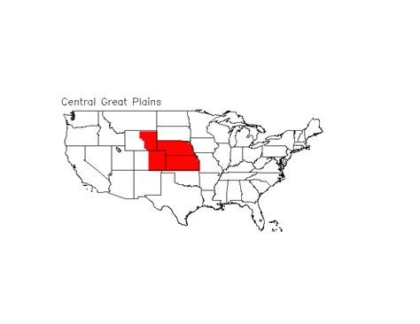 great plain and central plain the high plains you know national assesment regions of interest