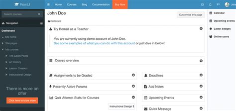 moodle theme sharp blog ited services
