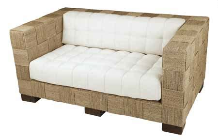 seagrass loveseat cs001 dakar loveseat seagrass