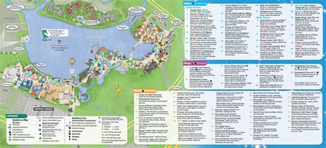 map of downtown disney disney springs downtown disney guide map aug 2015 photo 2 of 2