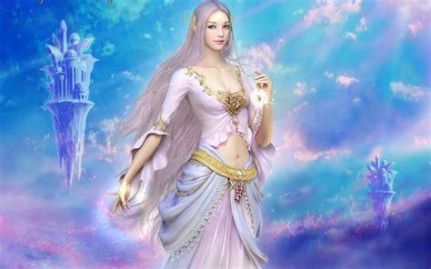 goddess of light wallpaper