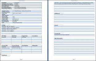 Free Personal Health Record Template by Goat Health Record Form Downloadable