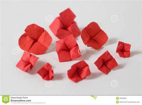 8 5 X 11 Origami Flower - origami flowers royalty free stock photo image 36306065
