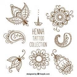henna tattoo studio handgezeichneten stil download der