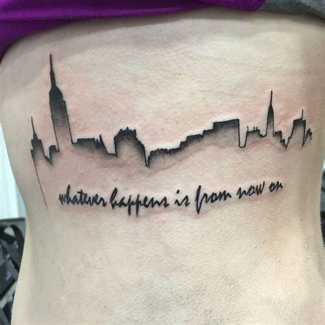 20 magnificent skyline tattoos skyline tattoo tattoo