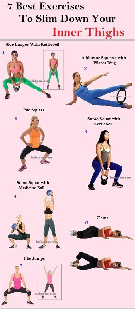 7 Leg Strengthening Exercises by The Ideal Inner Thighs Workout The One That Blasts