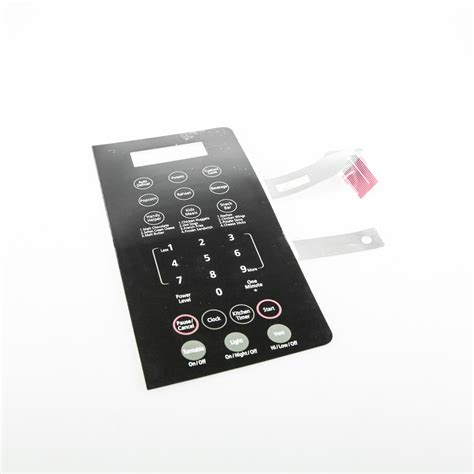 Touchpad De34 00350c Order Now Samsung De34 00304k Microwave Membrane Switch Smh8165b New