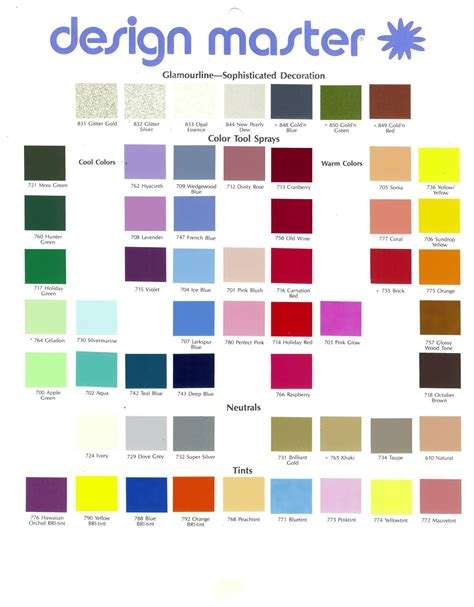 masters colors design master color card from 1987 or 2014 royal orchid