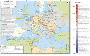World War 2 Maps by Map Of Europe During Ww2
