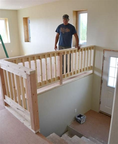 Small Stair Railing Diy Stair Railing Projects Makeovers Decorating Your