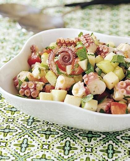 insalata di piovra e sedano cetriolo tutti ai fornelli