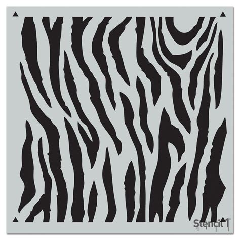 zebra pattern repeat stencil1 zebra repeat pattern stencil s1 pa 81 the home