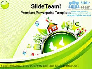 environment template go green environment nature powerpoint templates themes