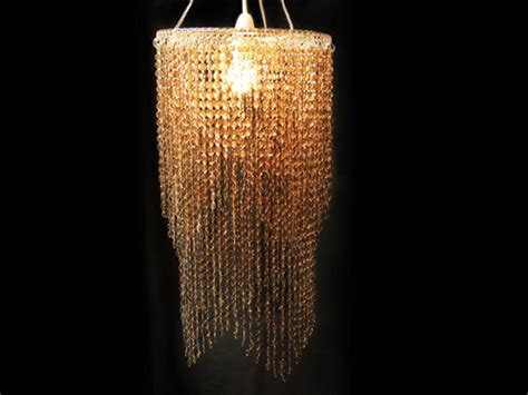 Topaz Layered Chandelier L Shade Plastic Beads 85 Ls Chandelier
