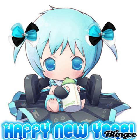 happy new year anime baby picture 104714324 blingee