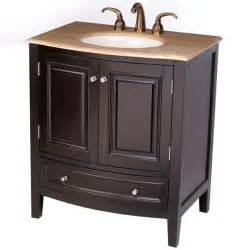 Bathroom Sink Cabinets 32 Perfecta Pa 174 Bathroom Vanity Single Sink Cabinet Espresso Finish Bathroom Vanities