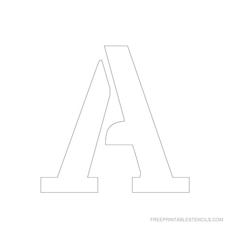 printable letter stencils for free printable 4 inch letter stencils a z free printable stencils