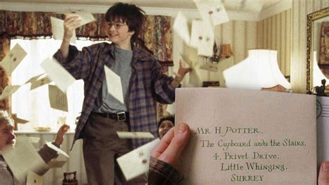 Auckland Acceptance Letter the original harry potter hogwarts acceptance letter is up